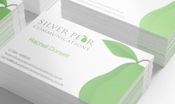 Silver Pear Logo and Stationery