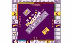 Branded Monopoly Board