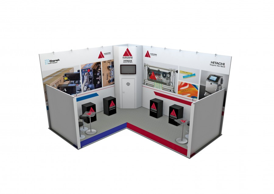 Allen Coding Space Only Bespoke Build Exhibition Stand Design