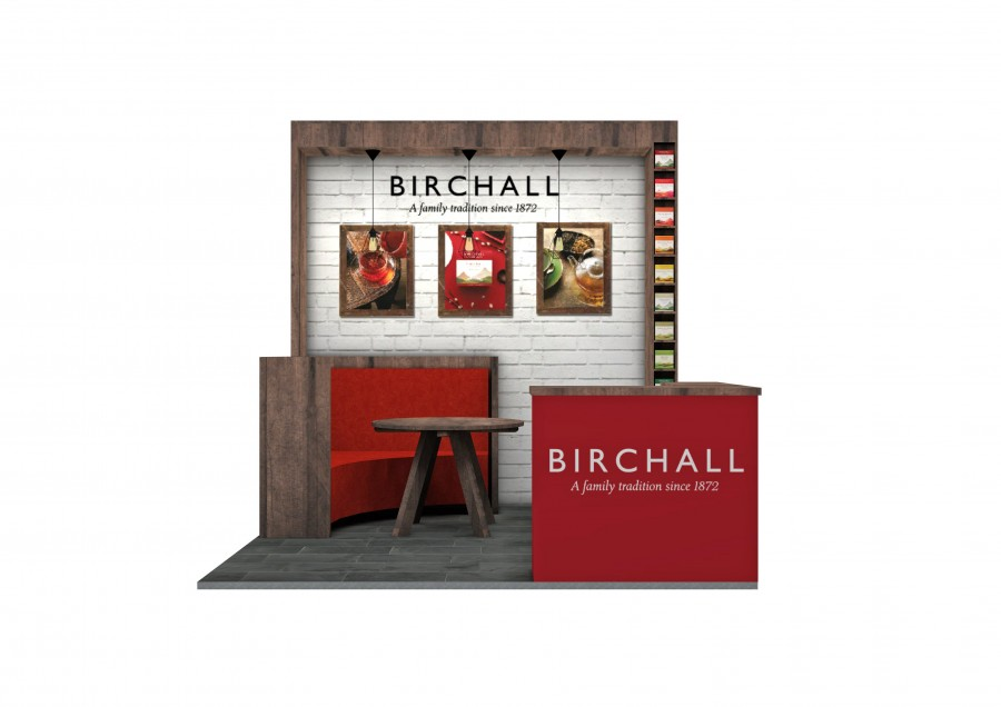Birchall Only Bespoke Build Exhibition Stand Concept