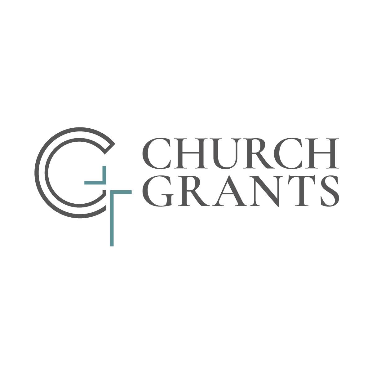 Church Grants Logo Design - C G and cross