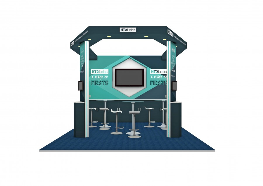 HT2 Space Only Bespoke Build Exhibition Stand Design