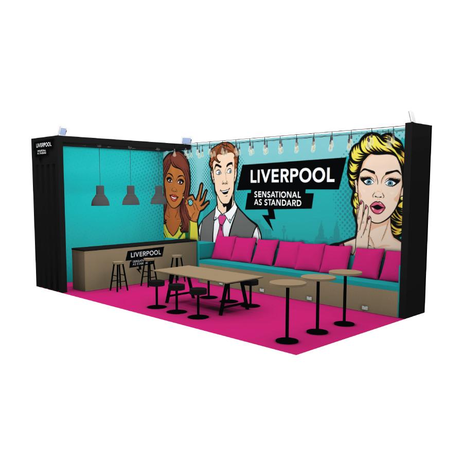 Exhibition Stand Concept Design