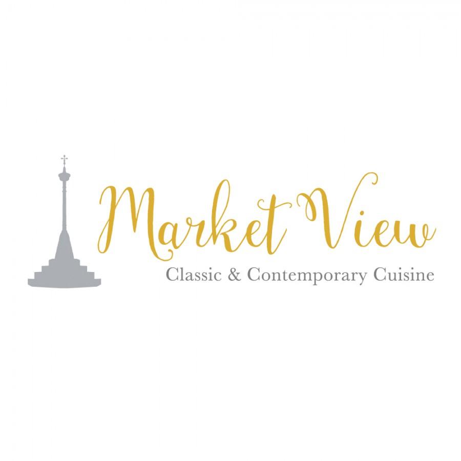 Market View Restaurant logo design