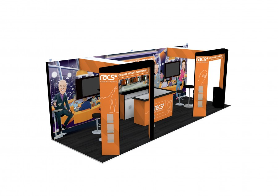 RACS Space Only Bespoke Exhibition Design