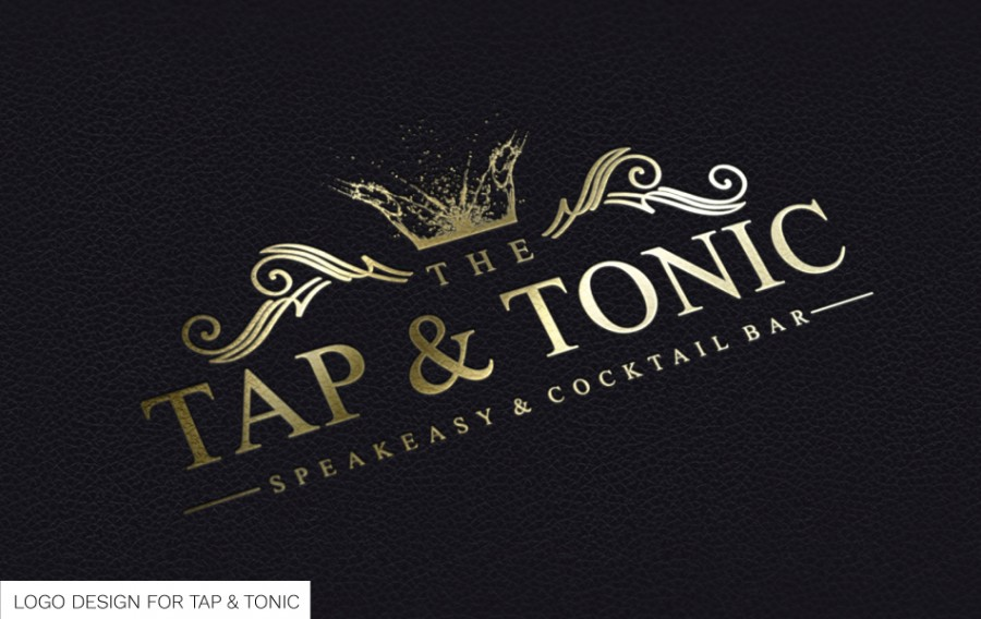 TAP-AND-TONIC-LOGO-DESIGN
