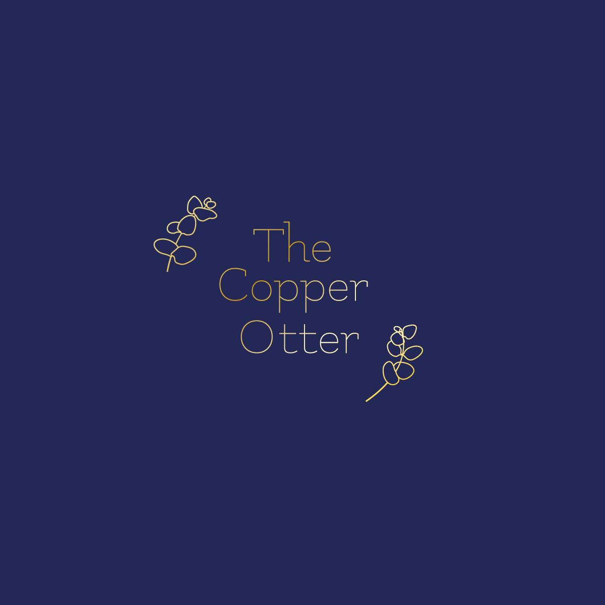 The Copper Otter Logo Design