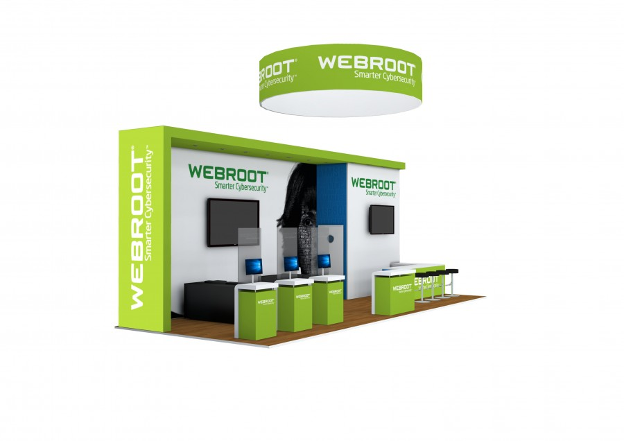 WEBROOT Space Only Exhibition Design