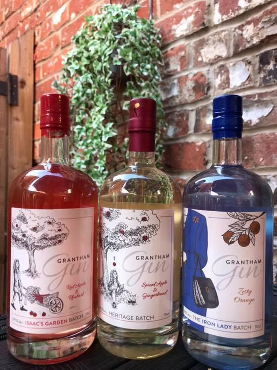 Grantham Gin Bottles