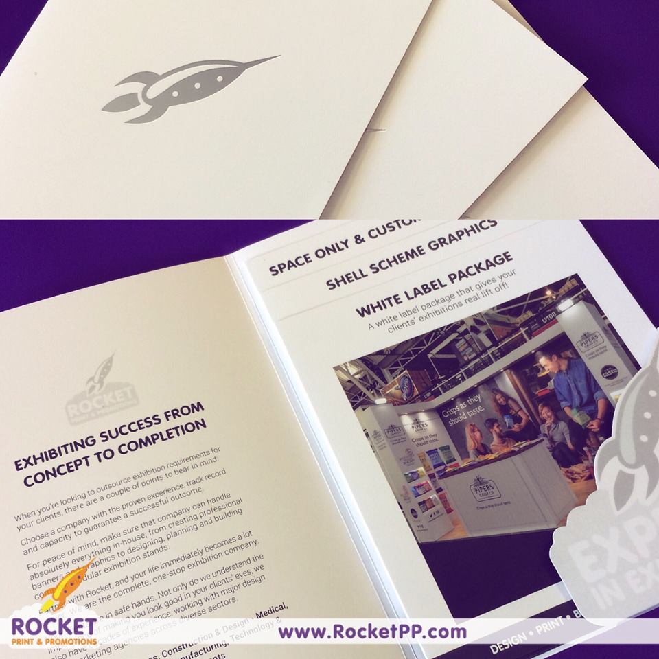 Bespoke Folder and Leaflet marketing pack