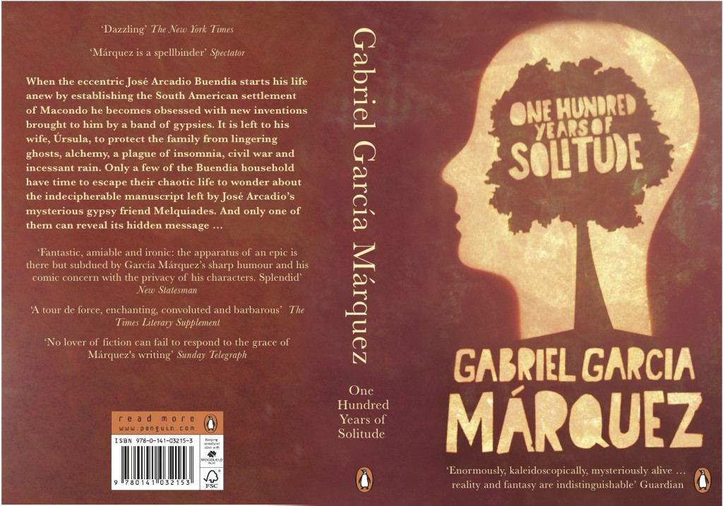 one hundred years of solitude penguin book cover design
