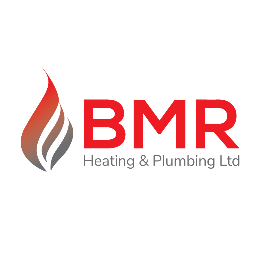 BMR Heating and Plumbing Logo Design
