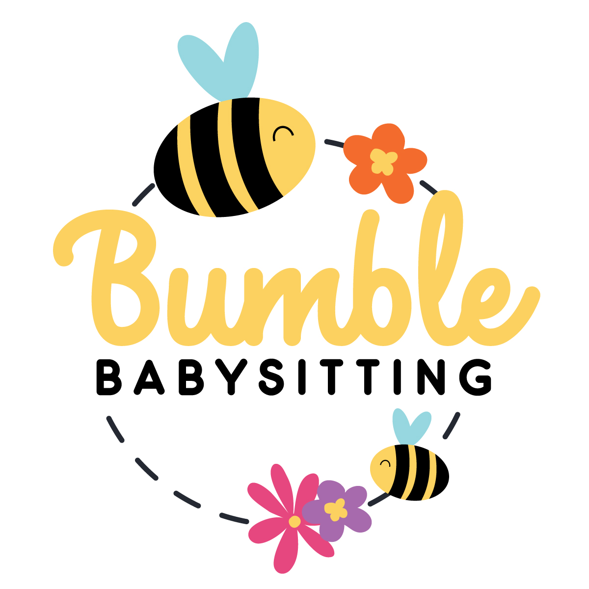 Bumble-babysitting Logo Design
