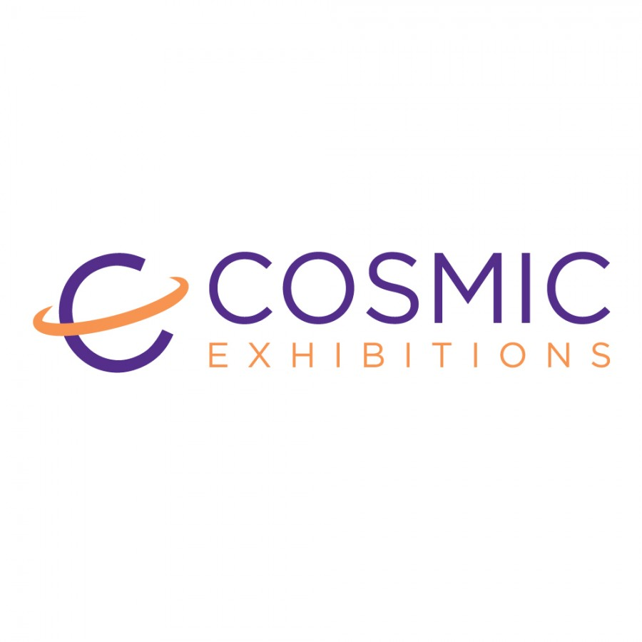 Cosmic Exhibitions Logo Design