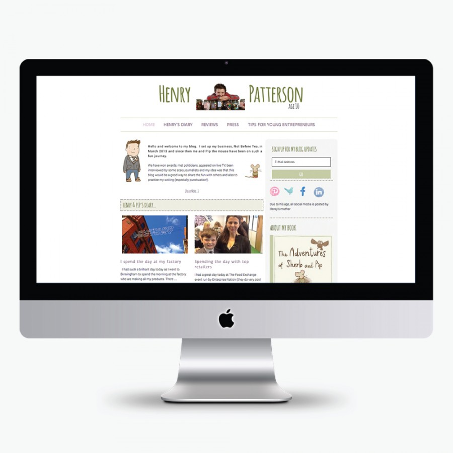 Henry-Patterson-Blog design