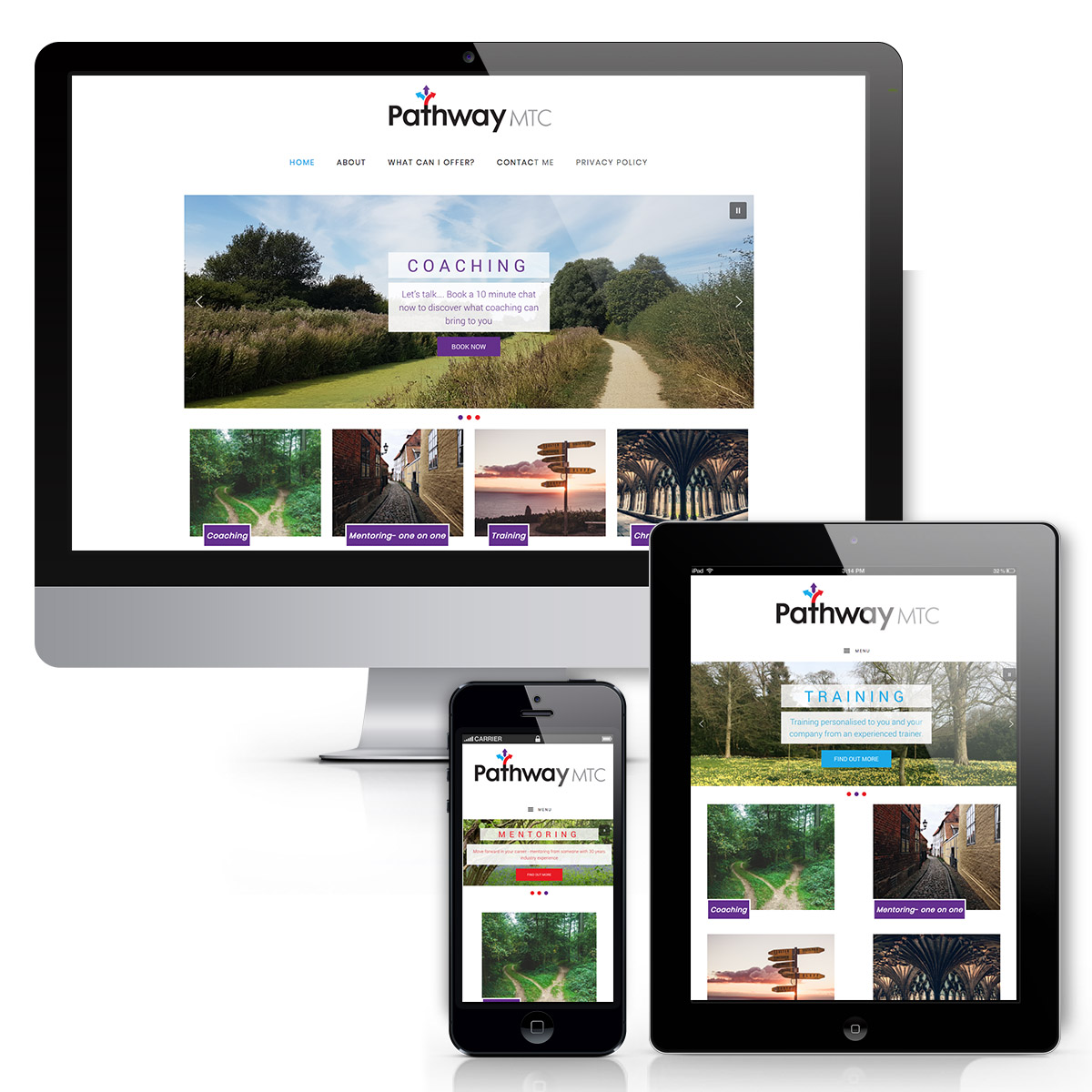 Pathway MTC responsive Website design
