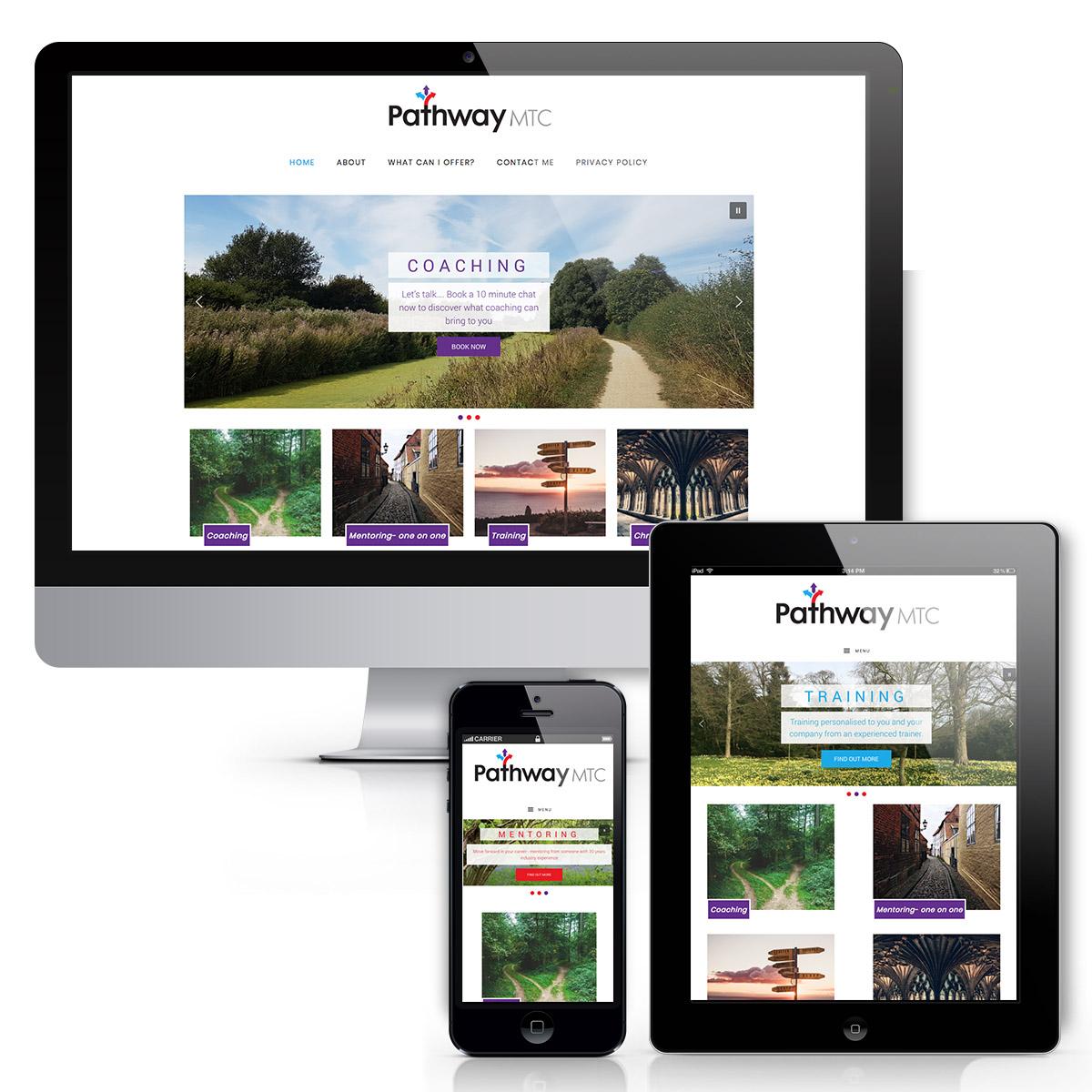 Pathway MTC responsive Website design
