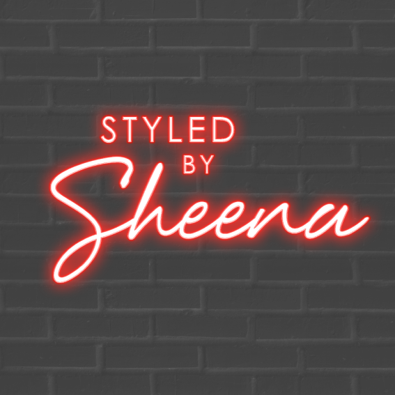 Logo design with Red Neon