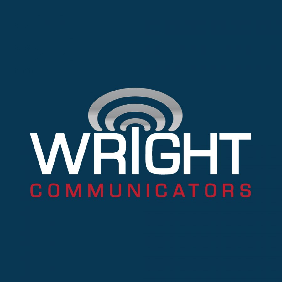 Wright Communicators logo design