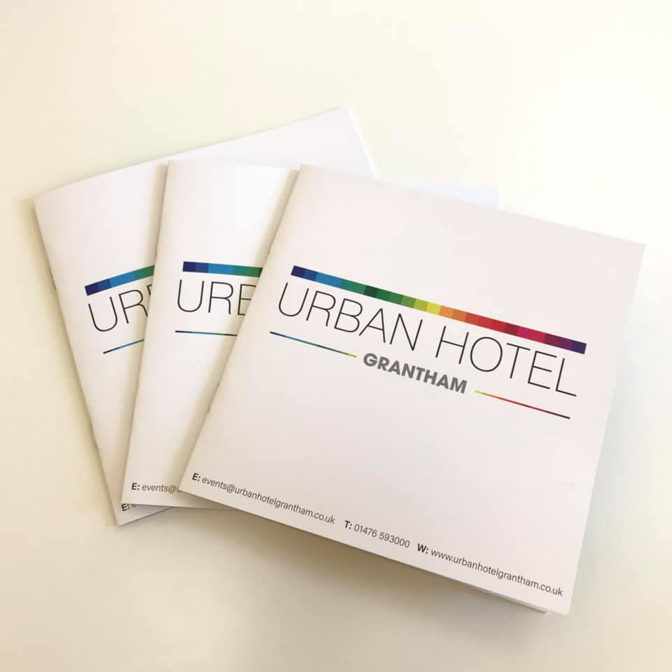 Urban Hotel Grantham Brochure Design