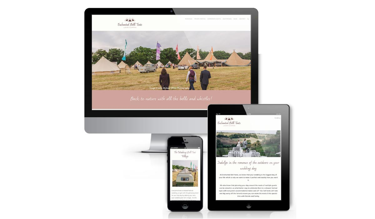enchanted-bell-tents-website-design