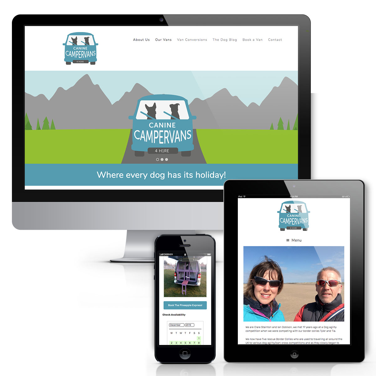 Canine Campervan Website
