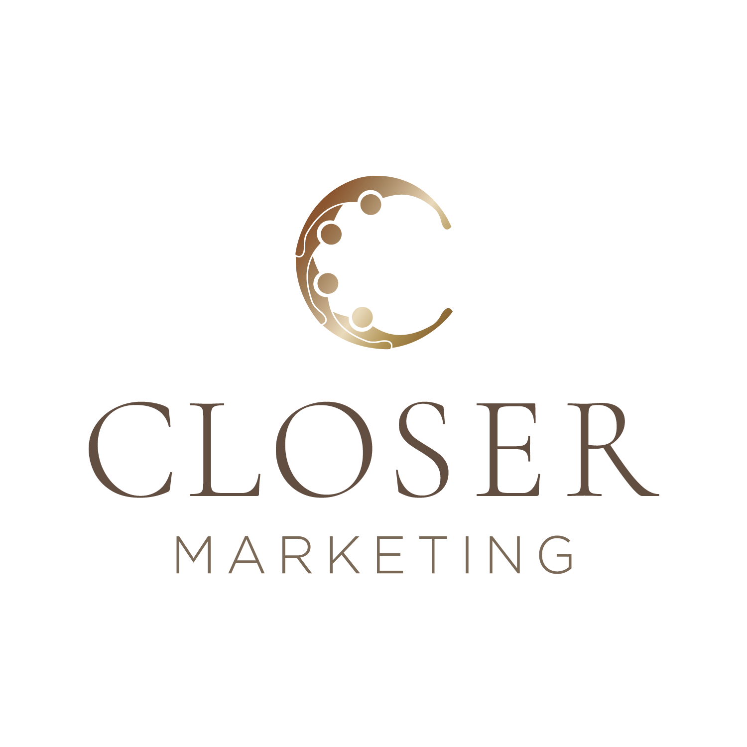 Closer Marketing Logo design