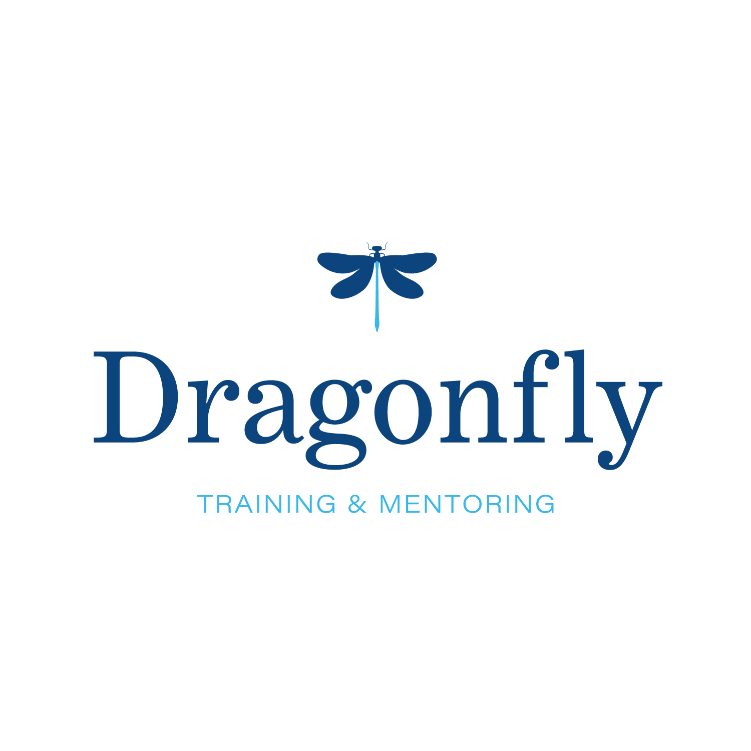 Blue Dragonfly Logo