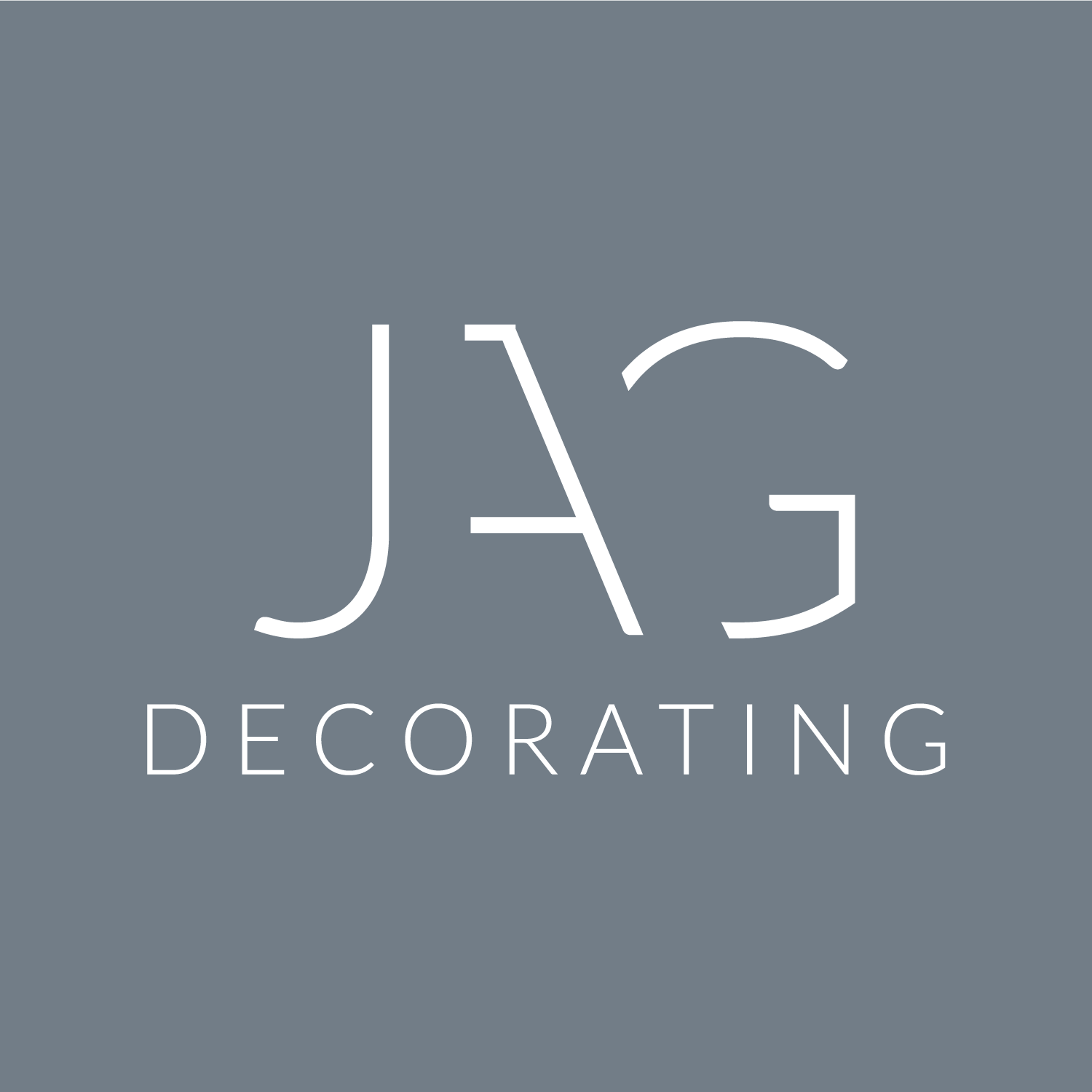 JAG Decorating Logo dusky blue